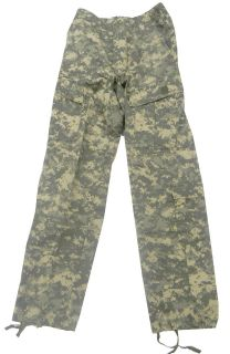 US Military GI Army Combat Uniform Rayon Aramid Pants ACU UCP US Made