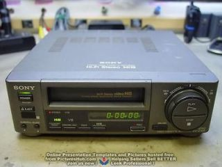 Newly listed OFFERING REPAIR / SERVICE of SONY Hi8 8mm EV C100 VCR