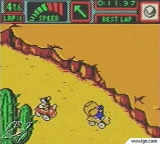 Mickeys Speedway USA Nintendo Game Boy Color, 2001