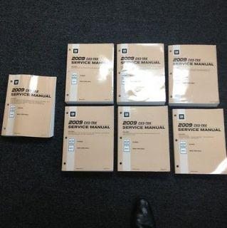 2009 Chevrolet Silverado And GMC Sierra, Sierra Denali Service Manuals