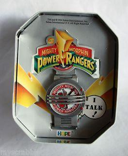 Mighty Morphin Power Rangers 1995 Hope Communicator Red Ranger Watch w