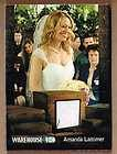 2012 Warehouse 13 S3 JERI RYAN as Amanda Show Worn Costume Card #d