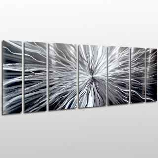 Modern Contemporary Abstract Metal Wall Sculpture Art Work Painting