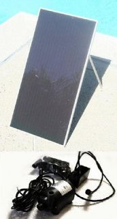 SOLAR POWER POND WATER PUMP With 30 Watt SOLAR PANEL