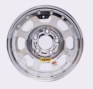 Aero Race Wheels 53 AEROBrite Chrome Roll Formed Beadlock Wheel 15x8