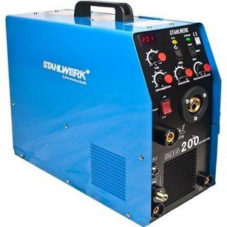 in 1 STAHLWERK MIG 200 TIG/MIG/MMA Inverter Welding Machine Welder