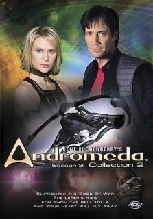 Andromeda   Season 3 Vol. 2 (DVD, Kevin Sorbo, Lisa Ryder / free DVD