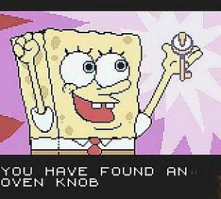SpongeBob SquarePants Legend of the Lost Spatula Nintendo Game Boy