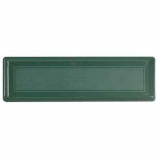 Novelty 10181 18 Hunter Green Plastic Window Box Planter Tray