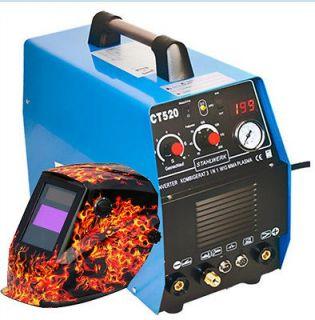 CT520 DC Inverter MMA/TIG Welding Machine + 4219A Welding Helmet