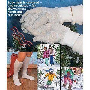 Mens Winter Thermal Socks Liners Leg Warmers Ski Snow Boarding Outdoor