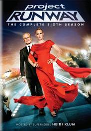 Project Runway The Complete Sixth Season DVD, 2010, 4 Disc Set