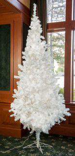 Treeforest Snowball Fir Prelit White Regular Artificial Christmas Tree