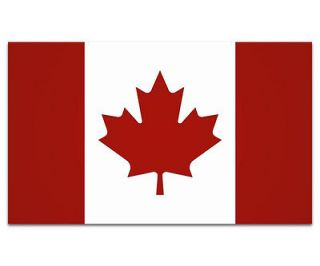 Flag Canadian Maple Leaf Car Vinyl Window Bumper Sticker Decal SFV