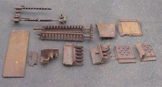 Large Lot Monarch Wood Cook Stove Cast Iron Parts