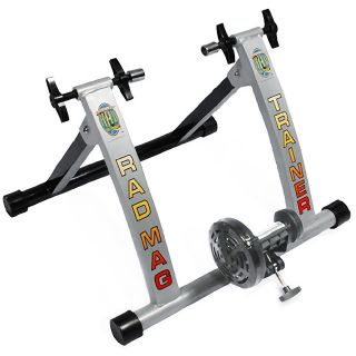 Bike Trainer Indoor Bicycle Exercise Portable Magnetic Work Out Cycle