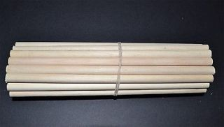 16 x 7 Birch Wooden Dowel Rods   Pack of 25 Craft
