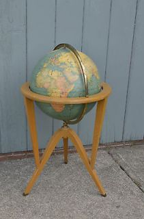 Dunbar Globe on stand Vintage Mid Century Modern Floor Edward Wormley