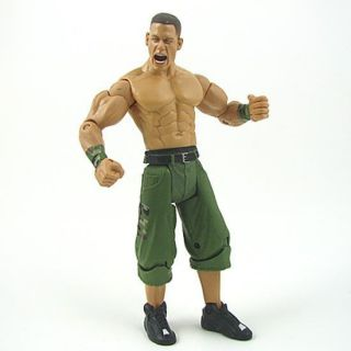 01V WWE JAKKS Wrestling John Cena figure +champion belt