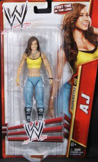 AJ   WWE SERIES 24 MATTEL TOY WRESTLING ACTION FIGURE