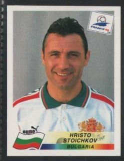 PANINI   FRANCE 98 FOOTBALL WORLD CUP #295   BULGARIA   HRISTO