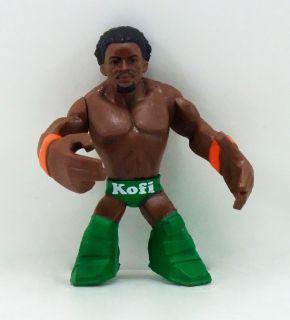 New Mattel 2010 WWE Wrestling WWE Rumblers KOFI KINGSTON Loose Figure