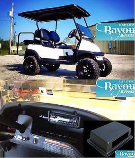 In Dash CD Radio  Stereo Mount Club Car EZ GO Yamaha Golf cart Gas