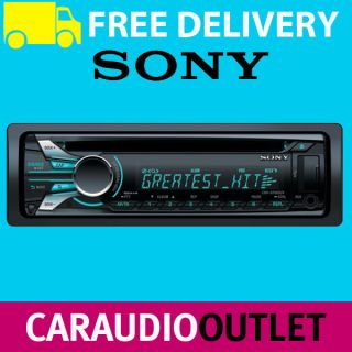 Sony CDX GT565UV CD  Car Stereo Front USB Aux In iPod iPhone Player