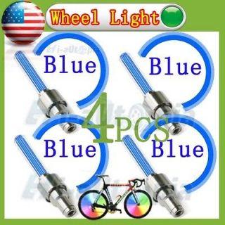 Pcs New Car Bike Bicycle Motorcycle Sensor Tyre Tire Wheel Led Light
