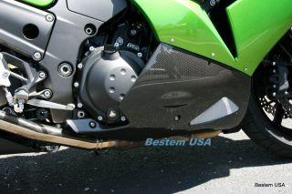 Kawasaki ZX14 ZZR1400 Carbon Fiber Belly Pan Fairings