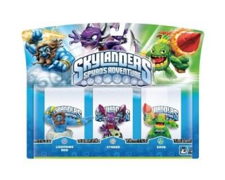 Spyros Adventure LIGHTNING ROD, CYNDER, & ZOOK 3 Pack of figures