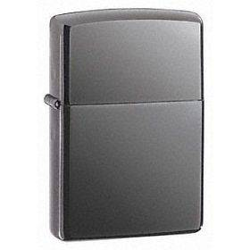 Zippo Black Ice Chrome Finish Full Size Lighter, Low Shipping, 150