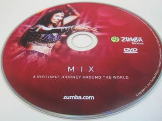 Zumba Fitness Mix DVD from Exhilarate DVDs set Region Free Plays