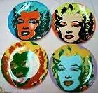 ANDY WARHOL x Block China Marilyn Plate Set 1997 from Some Like It