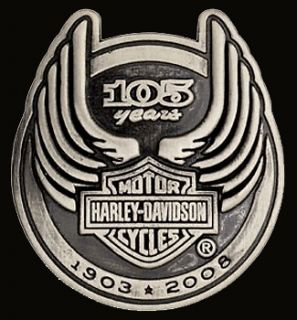harley anniversary pin in Pins & Buttons