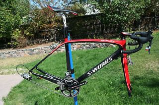 2011 Specialized S Works Amira Womens WSD Carbon Road Bike SRAM RED