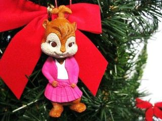 BRITTANY ALVIN CHIPMUNKS CHRISTMAS TREE TOY ORNAMENT MOVIE GIRL