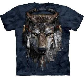 New INDIAN WOLF DJ FEN Zoo Wild Animal T Shirt S 3XL The Mountain
