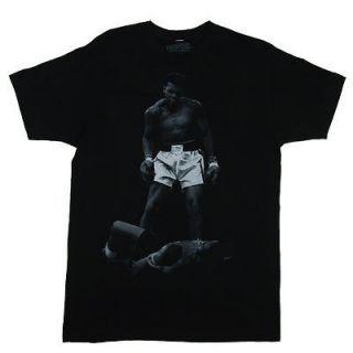 Ali Over Liston   Muhammad Ali Sheer T shirt