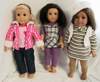 doll clothes for 18 dolls in American Girl