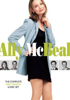 Ally McBeal The Complete First Season DVD, 2009, 6 Disc Set