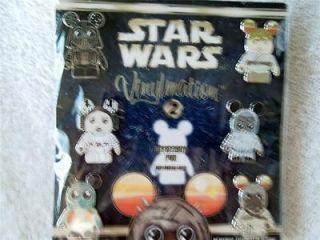 New Disney Star Wars #2 Vinylmation 6 Pin Lanyard Booster Set / No