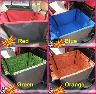 Car Pet Dog Puppy Cat Hammock Seat Cover Carrier Protector Blanket