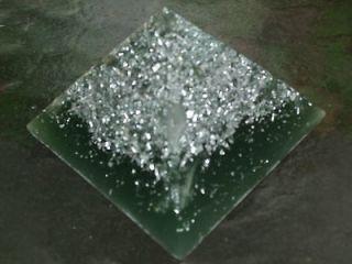 Earth Orgone Power Pyramid  Potent Energy Harmonizer++Field Generator