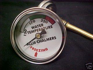 ALLIS CHALMERS WATER TEMP GAUGE, B, C, CA, WC, WD, WD45