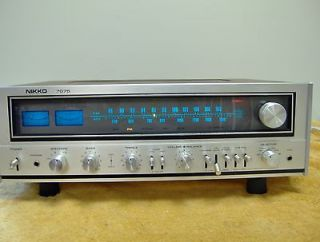 NIKKO AM/FM Stereo RECEIVER    Model 7075    really nice.
