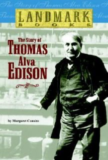 The Story of Thomas Alva Edison No. 8 by Margaret Cousins 1981