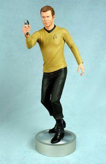 HCG STAR TREK Captain Kirk 14 scale Figure Statue William Shatner IN