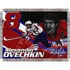 Washington Capitals Alexander Ovechkin #8 Woven Tapestry Throw