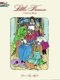 Little Women Coloring Book by Louisa May Alcott and Barbara Steadman